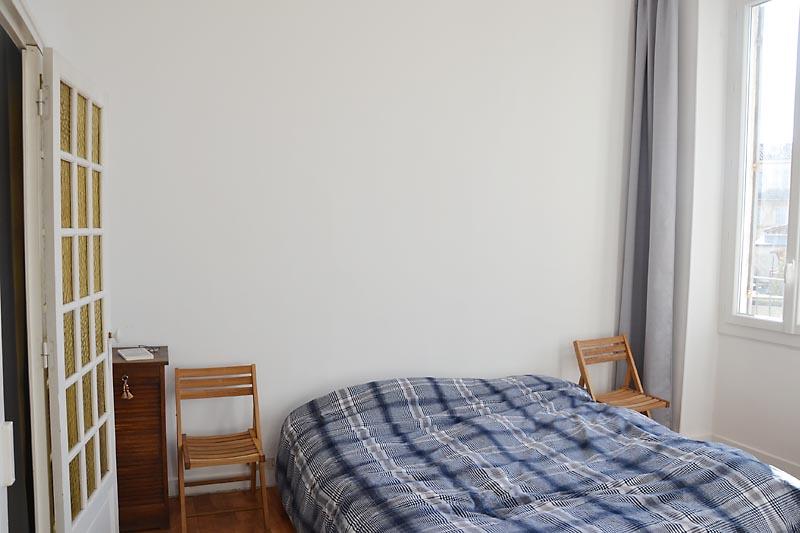 Schlafzimmer nach S